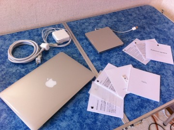 MacBookAirとMacBook Air SuperDrive
